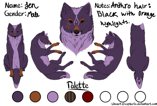 Jen {{Character for sale.}} by Demintion
