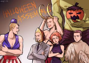 Avengers X Reader: Trick or Treat? (One-Shot!) by Mind-Wolf on