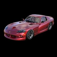 Dodge Viper Iray by VanishingPointInc