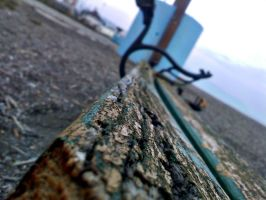 Old And Broken Bench by JunkieMKD