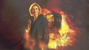 The 13th Doctor by miraradak