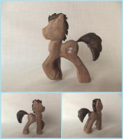 Doctor Whooves in Walnut by xofox