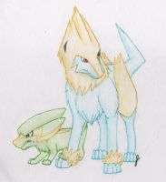 Electrike and Manectric