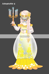 2018 Adoptable 5 Auction [CLOSE] by ryusin