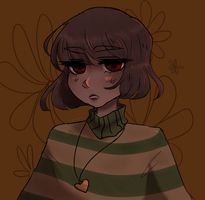 Chara [UNDERTALE] by suicxdes