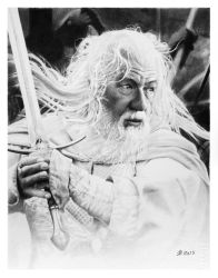 Gandalf the white by francoclun