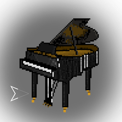 Piano by Emperaptor