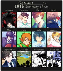 2016 Art Summary by Sennel