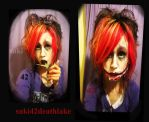I can smile forever now - cutting a slit mouth by suki42deathlake