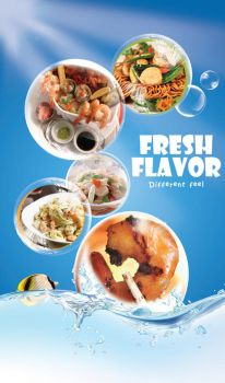 SeaFood Restaurant Flyer by Teach-Me-Freedom