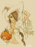 Happy Hallow's Eve by evikted