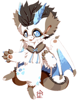 Ice Dragon DTA by nevaeh-lee