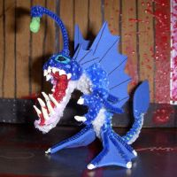 Xenichthys Gaming Figure by the-gil-monster