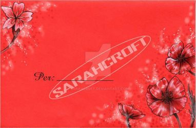 Greeting card envelope2_2013 by SARAHCROFT