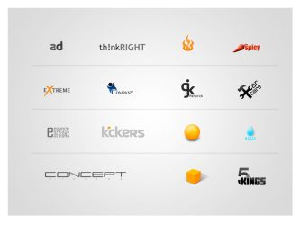 Logos by alexdesigns