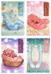 Lolita shoes' postcards by macarena