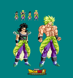 New Broly Movie 2018 Sprite by joeflizz