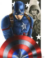 Civil War: Captain America by smlshin