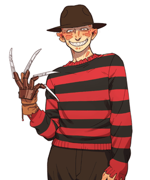 Taking off Freddy's clothes2 by NRjin