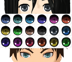 Attack on Titan - MMD eye textures by NipahMMD