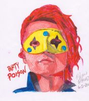 Party Poison drawing by livin4linkinpark