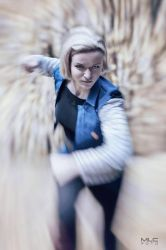 Android 18 from Dragon Ball Z - Bloodthirsty by AHu-PL