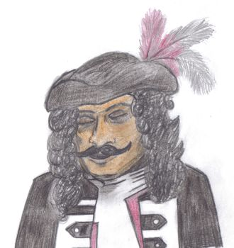 The Sinnerman as Captain Hook by therealmoshmonkey