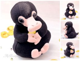 Niffler Plush Toy by MyBeautifulMonsters