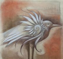 spirit bird with shell form by SethFitts