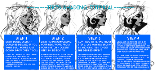 Skin/Face Shading tutorial by ti-ri