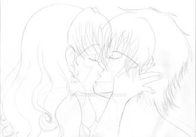 WiP Kiss Nomi-chan and Seiichi 2nd by Sil-Coke