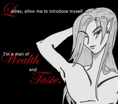 Dante--Wealth and Taste by baranohanayome