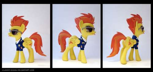 Spitfire 3D-Printed Figure by Clawed-Nyasu