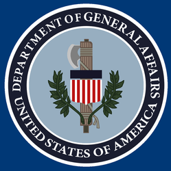 Seal of Department of general affairs by KingWillhamII