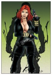 Black Widow by Delfine-S-Kanashii