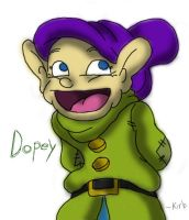Best Character Ever .:Dopey:. by Kirbopher15