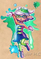 Stay Fresh, Marie! by RoamingDragon