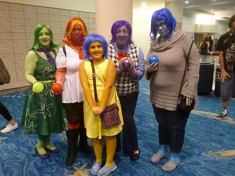 Supercon '17: The Five Emotions by NaturesRose
