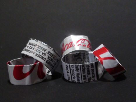 Pop Bands - Diet Coke Holiday Edition by vampyremuffin
