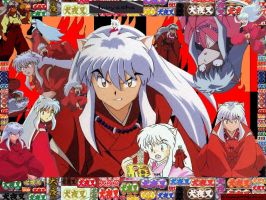Inuyasha wallpaper XD by Kagomegrl1990