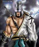 Raiden without the goofy hat by theswitcher