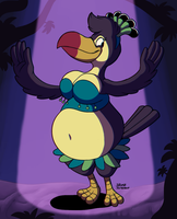 Talula the Toucan by megadrivesonic