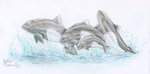 Wave Makers by GlacialEmpress