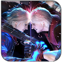 Devil may cry 4 square icon 2 by HarryBana