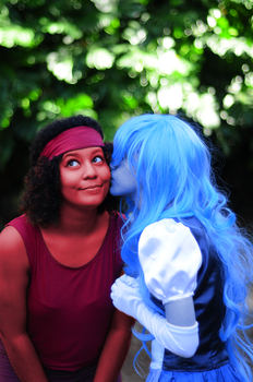 Ruby x Sapphire Cosplay #4 by meistertania