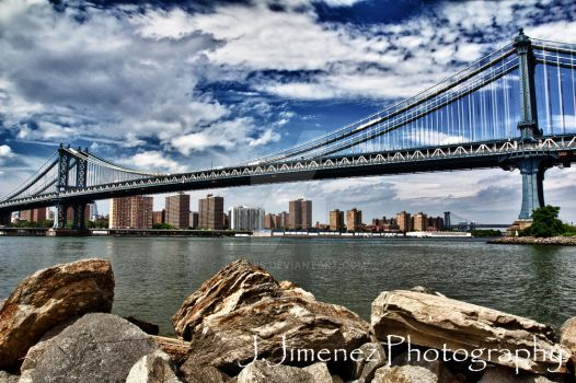 Manhattan Bridge by JJLouis