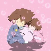 Cute digimon moment by All0412