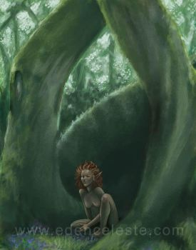 Pixie in the Woods by edenceleste