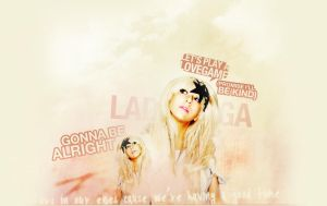 Lady GaGa by unweaving