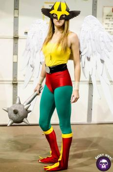 More Hawkgirl Cosplay! by art4KPD